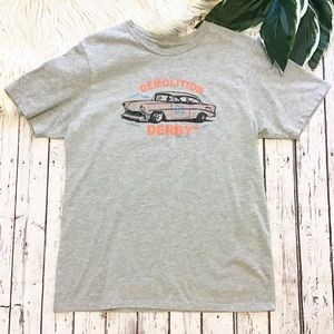 GUESS Demolition Derby Tee Mens Large